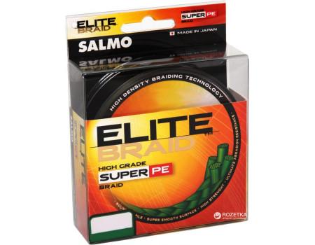 Шнур Salmo Elite Braid 0,50 мм 91м зеленая