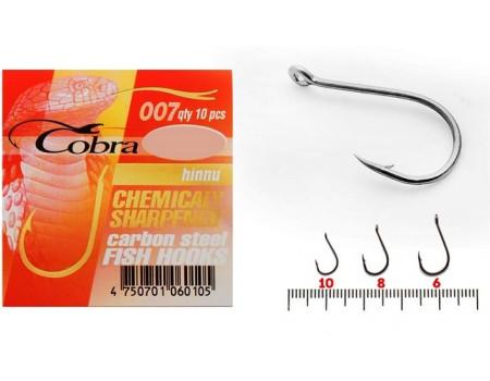 Крючки Cobra hinnu 10NSB 007
