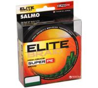 Шнур Salmo Elite Braid 0,09мм 91м зеленая