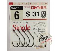 Крючки Owner S-31 №6