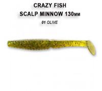 "Силикон Crazy Fish Scalp Minnow 5.5"" 19-13-1-4"