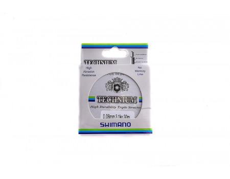 Леска Сhina Technium 0.10мм 1.8кг 30м