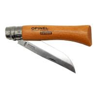 Нож Opinel 7 virobloc Carbone 113070