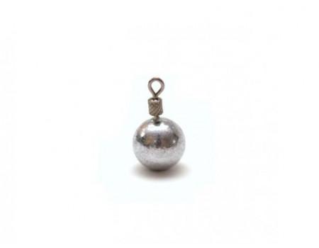 Груз Tula шарик для отв.,дропш. с вертл. Вес: 15,0 гр., гшв-150