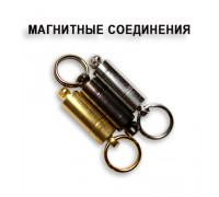 Магнитное соединение Crazy fish (цвет:серебро)
