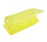 Коробка Tri Kita для вобл и баланс ВБ-2 желтая 2-х стор.(6+6отд.)(230х125х35мм)