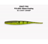Силикон Crazy Fish POLARIS 4 38-100-4d-6-F