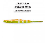 Силикон Crazy Fish POLARIS 4 38-100-5d-6-F