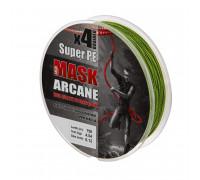 Шнур Akkoi Mask Arcane X4-150 (green) d0,08mm