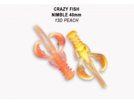 Силикон Crazy Fish NIMBLE 1,6 49-40-13d-6