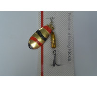 Блесна Kasatka Вращ. SF05-28 11g Gold-002-RB