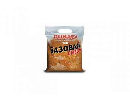 Прикормка Dunaev базовая смесь 2,5кг Лещ