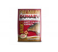 Прикормка Dunaev Премиум Карп,Сазан жареный арахис 1 кг