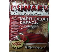 Прикормка Dunaev Премиум Карп,Сазан клубника 1 кг