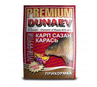 Прикормка Dunaev Премиум Карп,Сазан тути-фрутти 1 кг
