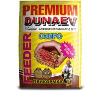 Прикормка Dunaev Премиум фидер озеро 1,0 кг