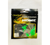 Бусина-насадка CARP fish силикон Home-4mm (50шт)