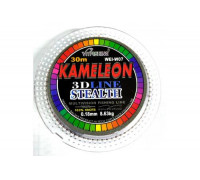 Леска Kameleon зимняя 3D 30м, 0,12 мм