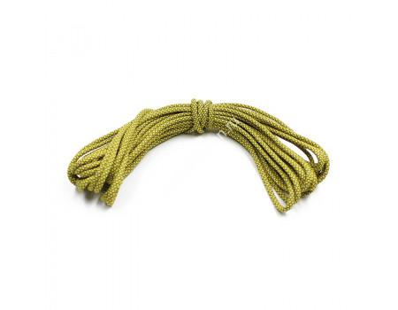 Шнур Sledopit светоотражающий d-4 мм, L-10 м, желтый