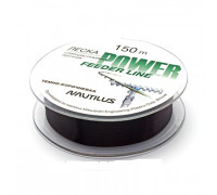 Леска Nautilus Power Feeder 150m d-0.234мм 3,8кг Dark Brown