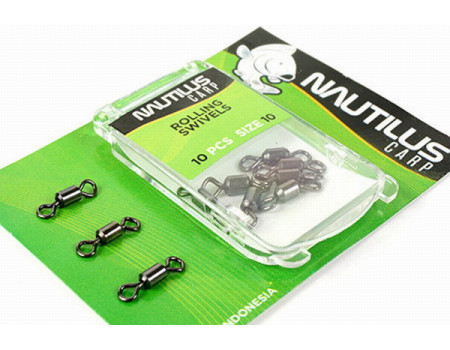 Вертлюг Nautilus Rolling Swivels # 8