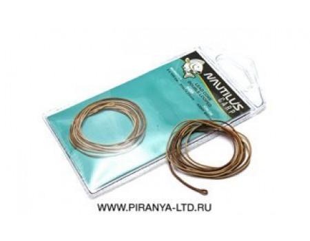 Лидкор Nautilus 35lb 2х1м Supreme Lead Core Double Looped Army Brown