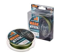 Шнур akkoi mask mystic x4-100 (deep green) d0,18mm