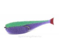 Поролон Lex CF07CDUV-LGBB (сиреневое тело/зеленая спина/красный хвост)