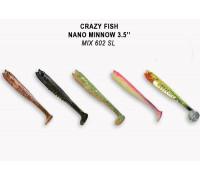 Силикон Crazy Fish Nano Minnow 3.5 54-90-M602SL-7