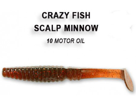 Силикон Crazy Fish SCALP MINNOW 7-8-10-4