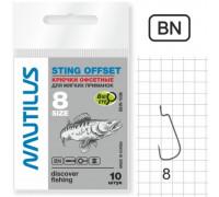 Крючки Nautilus Sting Offset SSW1008 №4