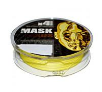 Шнур Akkoi Mask Plexus 150m (yellow) d0,12mm