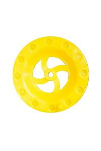 Катушка F Kvok для жерлиц 90мм желт.