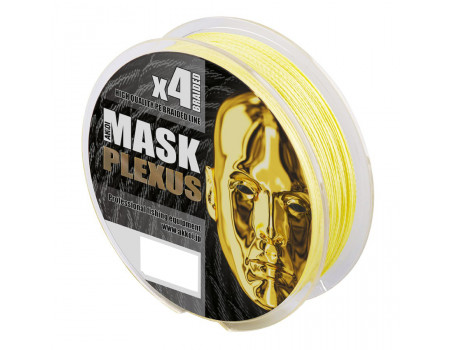 Шнур Akkoi Mask Plexus 150m (yellow) d0,08mm