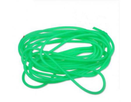 Резинка Tri Kita рыболовная зеленая Fishing Gum №1 1,5 мм. 10 м.