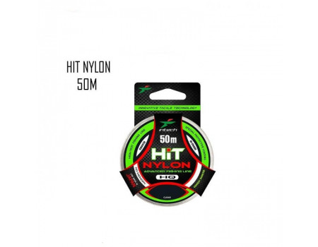 Леска Intech Hit Nylon 50 м. 0,186 мм. 2,6 кг.