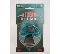 Леска Stream Brilliant 30 м 0,165 мм 3,40 кг