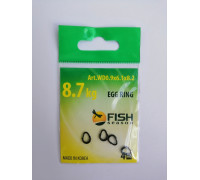 Кольцо Fish Season титан разжимное 0,9х6,1 х8,2 мм 8,7кг