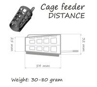 Кормушка ORANGE Distance Cage Feeder 40 гр.