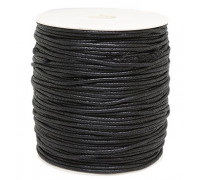 Шнур Profmontag в оплётке цвет черный  35 lb 5 м.