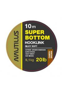 Поводковый Nautilus материал Super Bottom 30 lb 10 м. Camou Green