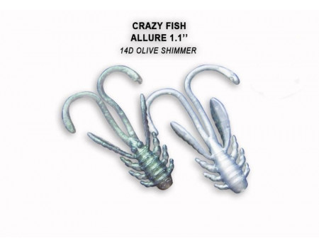 Силикон Crazy Fish ALLURE 1,1