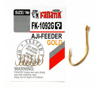 Крючки Fanatik FK-1092 Aji - Feeder Gold №7