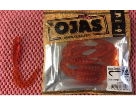 Силикон Ojas Sorry Zander-34 Orange Рак-рыба 7шт.