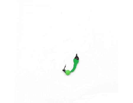 Мормышка Yaman Лесотка №2, d-2,5 мм, L-8 мм, вес 0,35 г, фц. зеленый шар, цв. салатовый