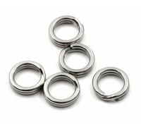 Кольца Gurza заводные Split Ring ST BK № 4 4 мм. 15 кг.