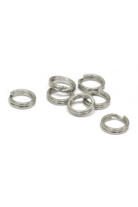 Кольца Gurza заводные Split Ring ST BK № 1 2,6 мм. 7 кг.