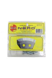 Ножи NERO правое вращение полукруглые 180мм 3001-180 (CR)