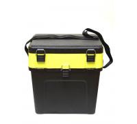 Ящик Tri Kita зимний черно-желтый 4+4 отделения (380*360*240)