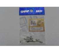 Карабин Akkoi Snap безузловой SB01 M